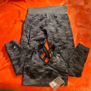 Gymshark Camo Seamless Outfit